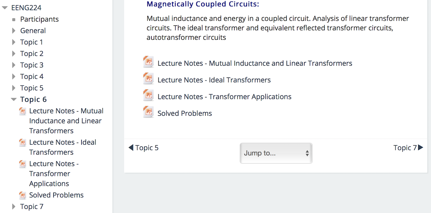 In Depth Moodle Lms Review Saber Blog Circuit Wizard Screenshot Courses Are Usually Divided Into Sections Which Can Be Treated As Modules Or Blocks Of Time Depending On How The Course Is Run